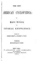 THE NEW AMERICAN CYCLOPAEDIA  A POPULAR DICTIONARY OF GENREAL KNOWLEDGE PDF