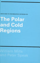 Keyguide to Information Sources on the Polar and Cold Regions PDF