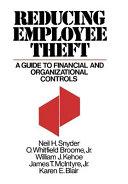 Reducing Employee Theft