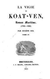 La vigie de Koat-Ven: Roman Maritime, (1780 - 1830)