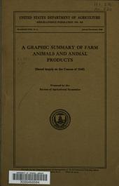 A Graphic summary of farm animals and animal products: (based largely on the census of 1940)