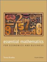 Essential Mathematics for Economics and Business PDF