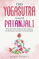 Das Yogasutra nach Patanjali PDF