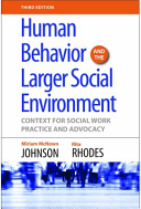 Human Behavior and the Larger Social Environment PDF