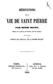Méditations sur la vie de Saint Pierre