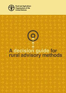 A decision guide for rural advisory methods PDF