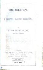 The Telotype  a Printing Electric Telegraph PDF