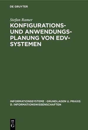 Konfigurations  und Anwendungsplanung von EDV Systemen PDF