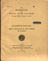The Transactions of the Royal Irish Academy: Volume 32, Part 10