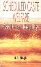 Scheduled Caste Welfare PDF