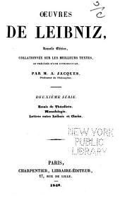Oeuvres de Leibniz: Volume2