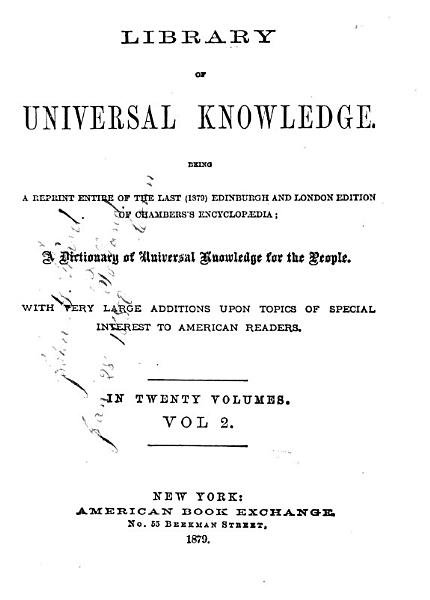 Download Library of Universal Knowledge Book