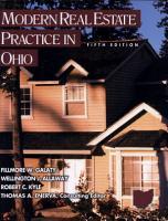 Modern Real Estate Practice in Ohio PDF
