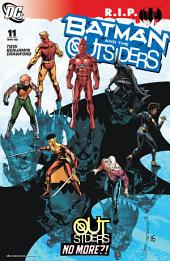 Batman and the Outsiders (2007-) #11