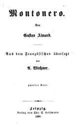 Montonero: Von Gustav Aimard. Aus dem Französischen übersetzt von A. Wiessner, Band 2