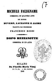Michele falegname commedia in quattro atti dei signori Duvert, Lauzanne e Jaime