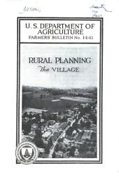 Rural planning--the village