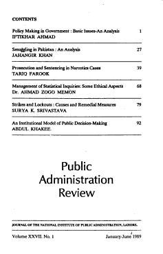 Public Administration Review PDF