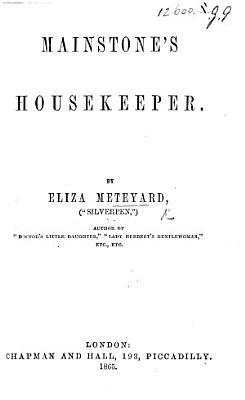 Mainstone s Housekeeper PDF