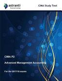 Cima P2 Advanced Management Accounting Study Text PDF