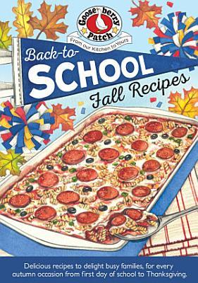 Back To School Fall Recipes