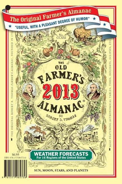 Download The Old Farmer s Almanac 2013 Book