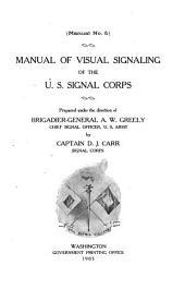 Manual of Visual Signaling of the U.S. Signal Corps