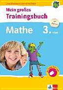 Mein gro  es Trainingsbuch Mathematik 3  Klasse PDF