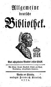 Allgemeine deutsche Bibliothek: Band 18