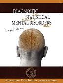 Diagnostic And Statistical Manual Of Mental Disorders Book PDF