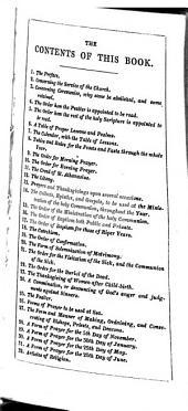 The Book of common prayer: Volume 1