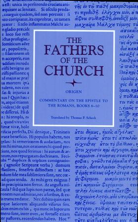 Commentary on the Epistle to the Romans  Books 6 10 PDF