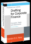 Drafting for Corporate Finance PDF