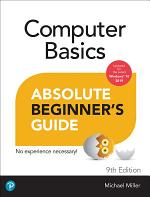 Computer Basics Absolute Beginner's Guide, Windows 10 Edition