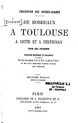 De Bordeaux    Toulouse     Cette et    Perpignan PDF