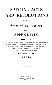 Special Acts of the State of Connecticut: Volume 15, Part 2