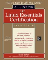 LPI Linux Essentials Certification All in One Exam Guide PDF