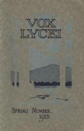 Vox Lycei Spring 1915