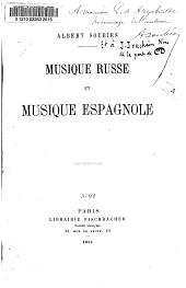 Musique russe et musique espagnole