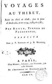Voyages au Thibet, faits en 1625 et 1625