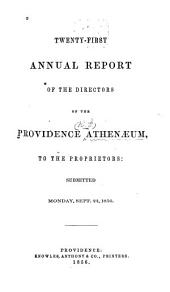 Annual Report: Issues 21-35