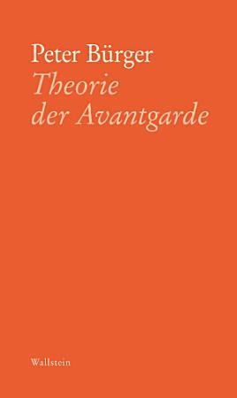 Theorie der Avantgarde PDF