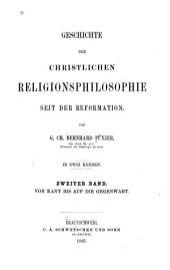 Bd. Von Kant bis auf die Gegenwart