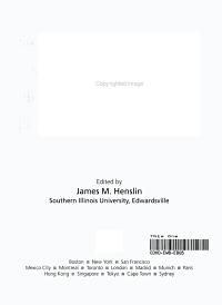Life in Society
