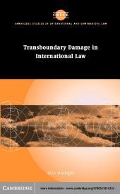 Transboundary Damage in International Law