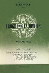 Progress in Optics: Volume 29