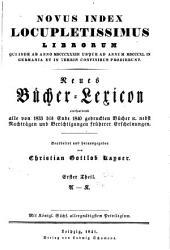 Vollständiges Bücher-Lexicon: Bände 7-8