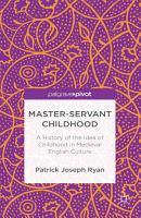 Master Servant Childhood PDF