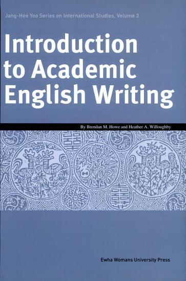 Introduction to Academic English Writing Paperback  PDF