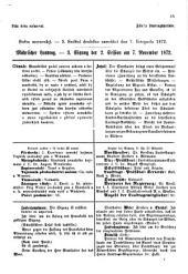 Landtags-Blatt über die Sitzungen des mit dem Allerhöchsten Patente vom ... einberufenen Mährischen Landtages: nach stenographischen Aufzeichnungen. 1872